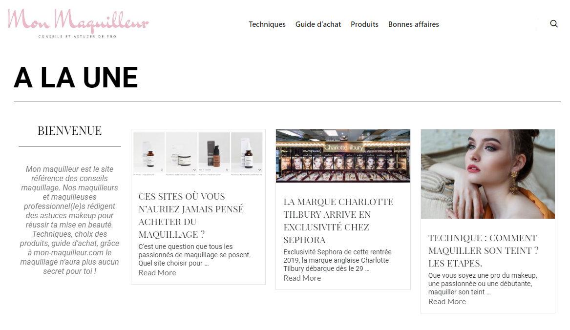 mon-maquilleur.fr site de cosneils et astuces maquillage