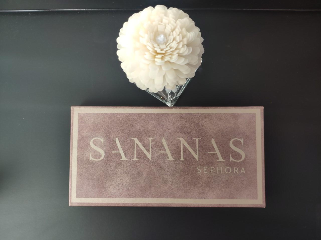 SANANAS x SEPHORA maquillage avis test produit