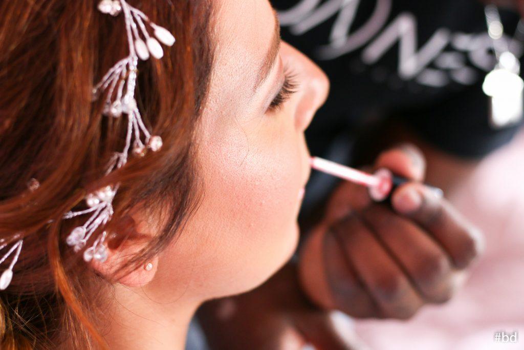 Jour de mariage vu par votre maquilleur à domicile Lyon Ain Bourg Genève Paris